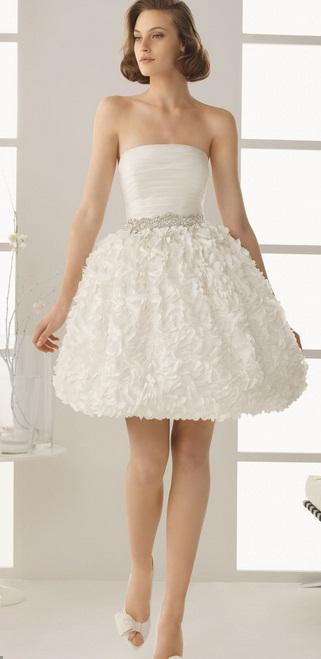 Vestido curto Rosa Clará - Vestidos de Noiva Curtos