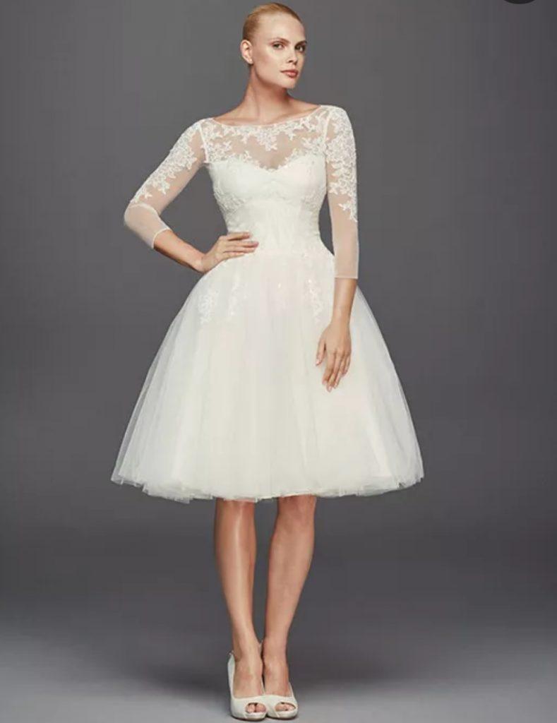 Zac Posen 789x1024 - Vestidos de Noiva Curtos