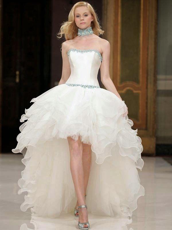 curto 1 - Vestidos de Noiva Curtos