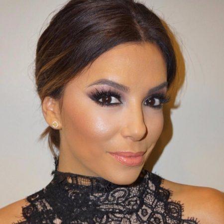 Eva Longoria Favorite Makeup Look 450x450 - Dicas e Ideias de Maquilhagem - Pele Oliva Escuro