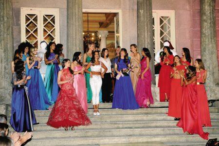 Modelos Final 450x299 - Desfile Micaela Oliveira -  Colecção de cerimónia 2013