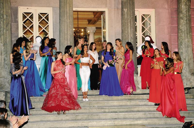 Desfile Micaela Oliveira Colecção de cerimónia 2013 O