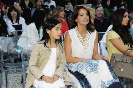 Raquem Rocheta 450x299 - Desfile Micaela Oliveira -  Colecção de cerimónia 2013
