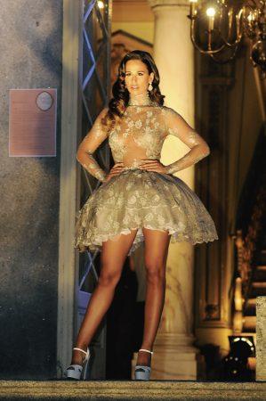 Rita Pereira 299x450 - Desfile Micaela Oliveira -  Colecção de cerimónia 2013