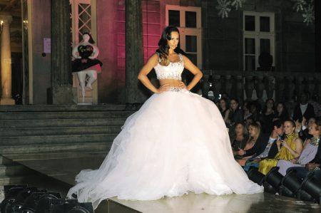 Rita Pereira final 450x299 - Desfile Micaela Oliveira -  Colecção de cerimónia 2013