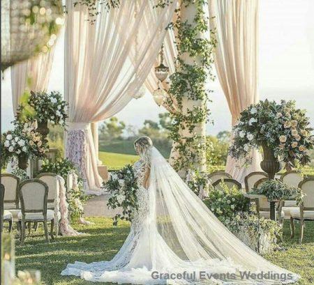 Casamento jardim27 450x409 - Decoração de Jardim - Inspirações
