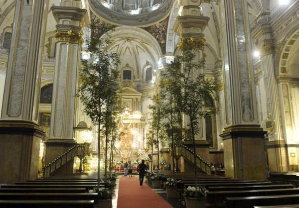 casamento maria colonques espanha igreja - Casamento de sonho de María Colonques ♥ Andrés Benet