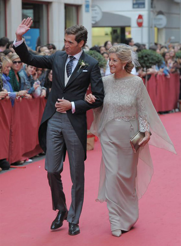 casamento maria colonques espanha noivo mae de noivo - Casamento de sonho de María Colonques ♥ Andrés Benet