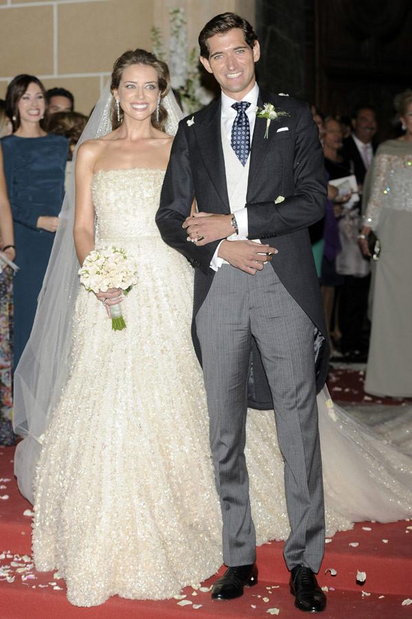 casamento maria colonques espanha vestido de noiva elie saab couture 06 - Casamento de sonho de María Colonques ♥ Andrés Benet