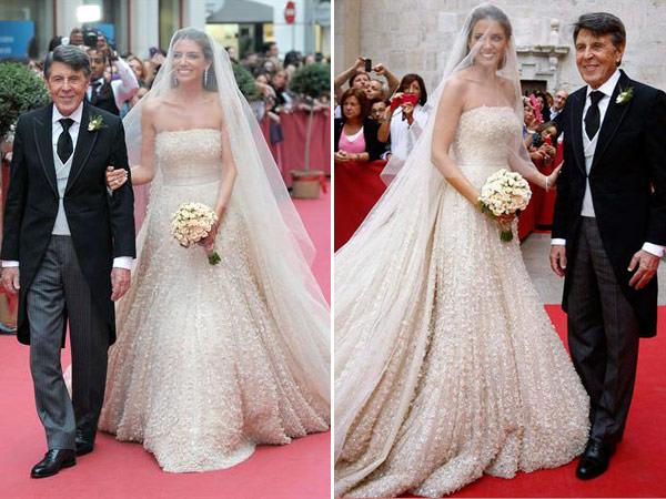 casamento maria colonques espanha vestido de noiva elie saab couture 09 - Casamento de sonho de María Colonques ♥ Andrés Benet