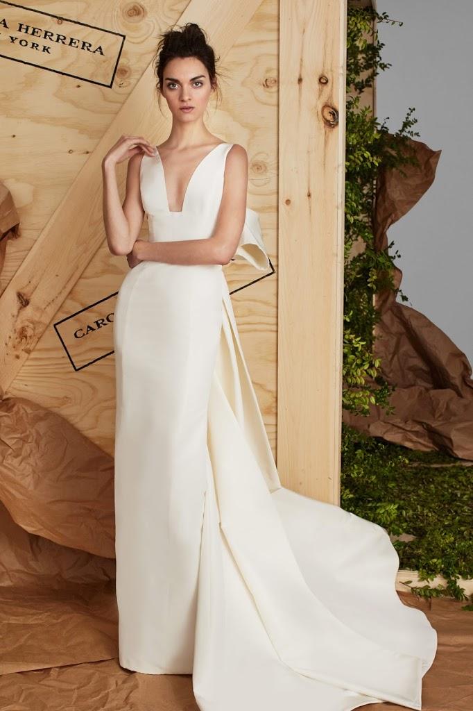 Carolina 2BHerrera 2BAUBREY - Vestidos de Noiva 2017 - Bridal Collection 2017