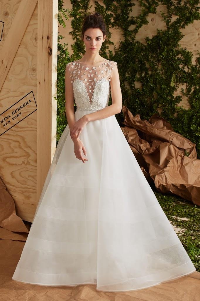 Carolina 2BHerrera 2BAUSTYN - Vestidos de Noiva 2017 - Bridal Collection 2017