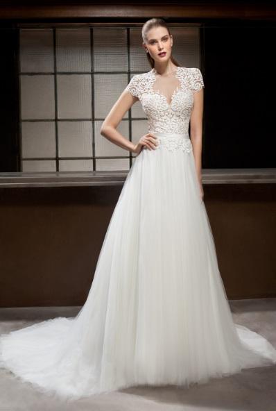 Cosmobella 2B7844 - Vestidos de Noiva 2017 - Bridal Collection 2017