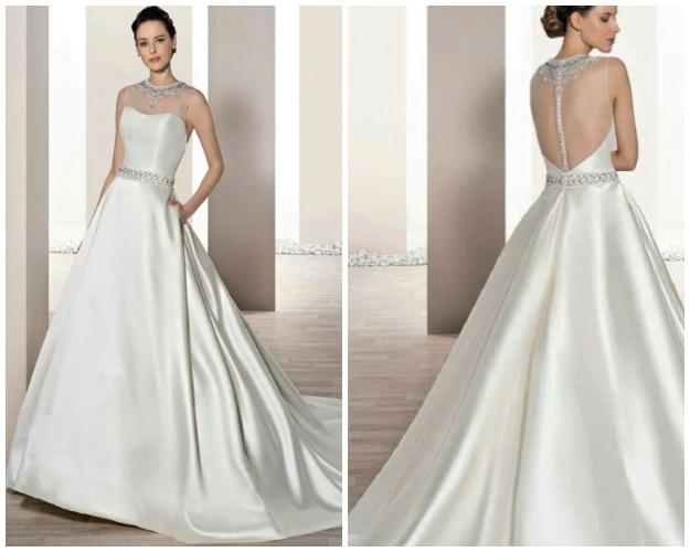 Demetrios 2B691 - Vestidos de Noiva 2017 - Bridal Collection 2017