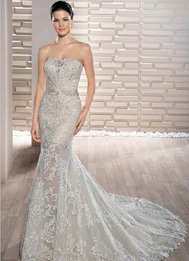 Demetrios 2B715 - Vestidos de Noiva 2017 - Bridal Collection 2017