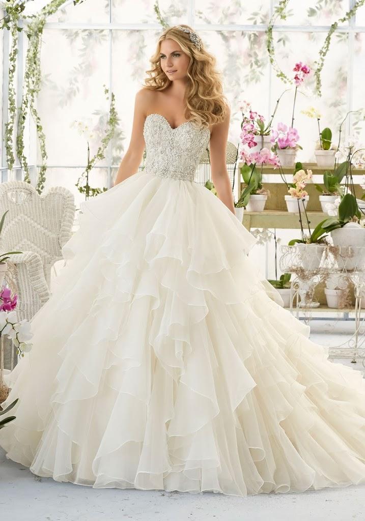 Morilee 2B2815 - Vestidos de Noiva 2017 - Bridal Collection 2017