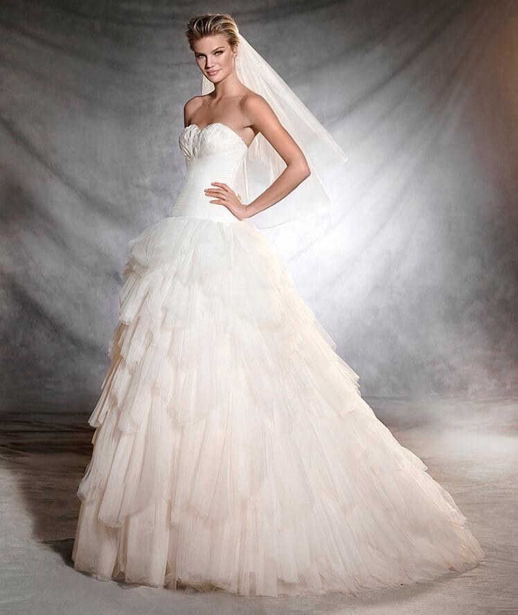 Pronovias 2BORFEON - Vestidos de Noiva 2017 - Bridal Collection 2017