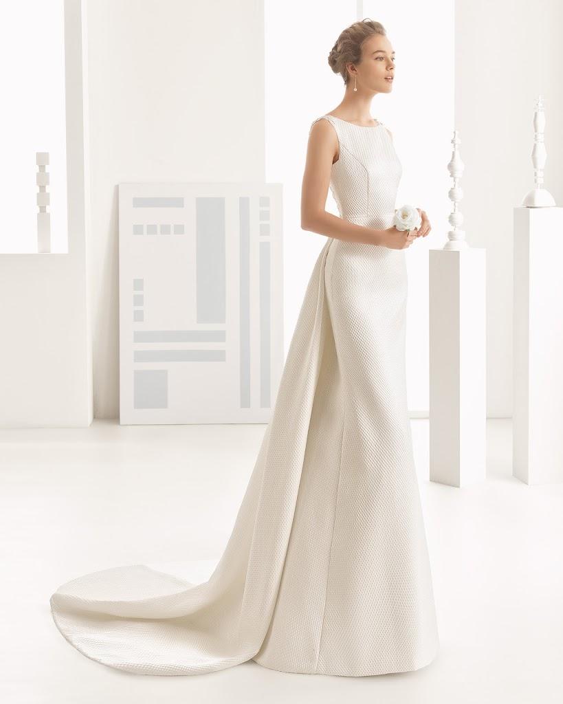 Rosa 2BClar 25C3 25A1 2BNAVAS - Vestidos de Noiva 2017 - Bridal Collection 2017