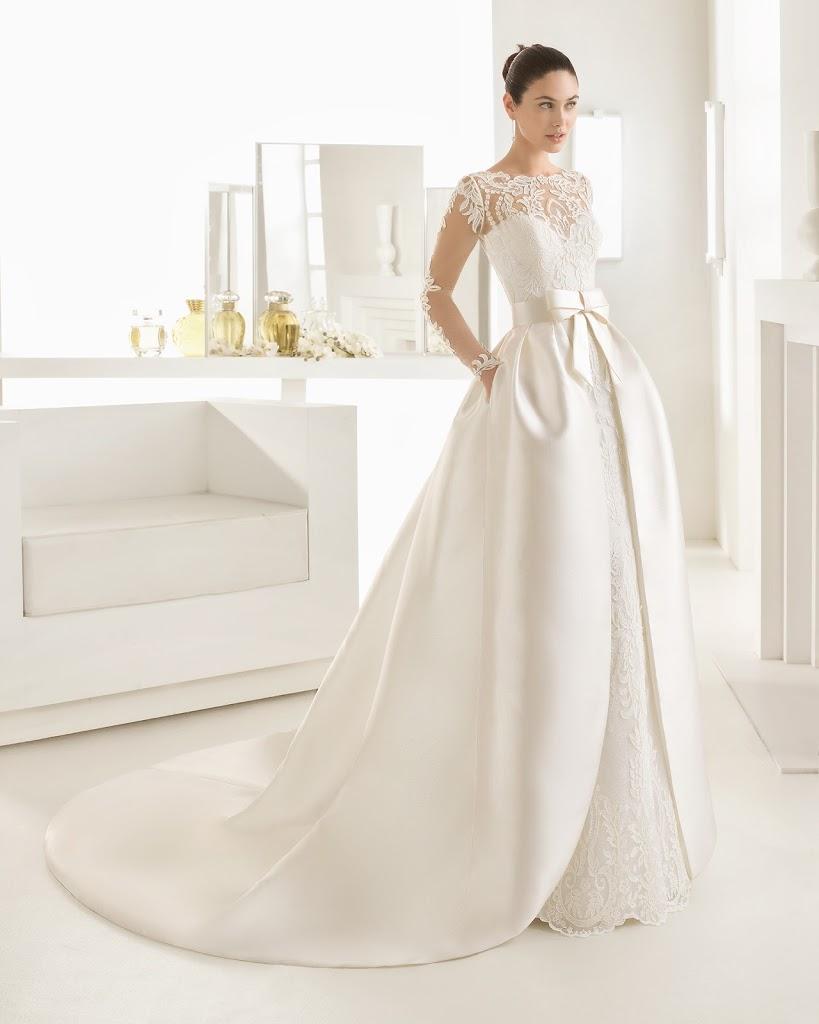 Rosa 2BClar 25C3 25A1 2BOLAF - Vestidos de Noiva 2017 - Bridal Collection 2017