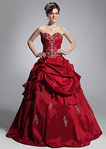 ´2 - Vestidos de Noiva Coloridos - Inspirações