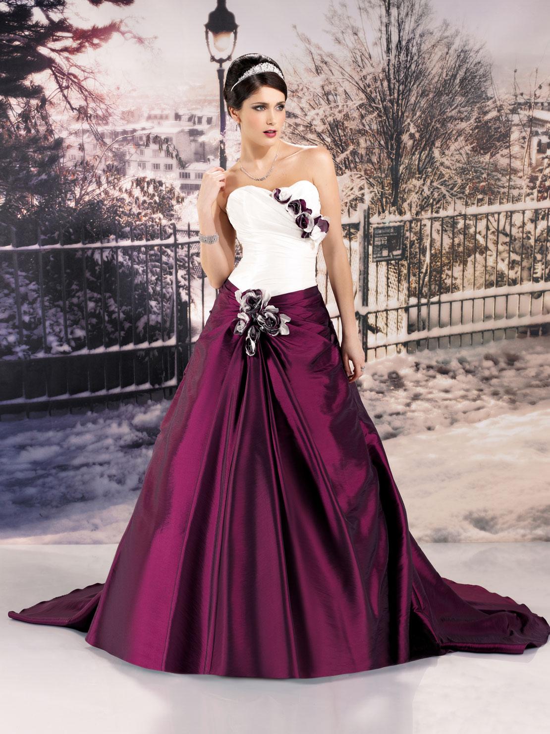 12 - Vestidos de Noiva Coloridos - Inspirações