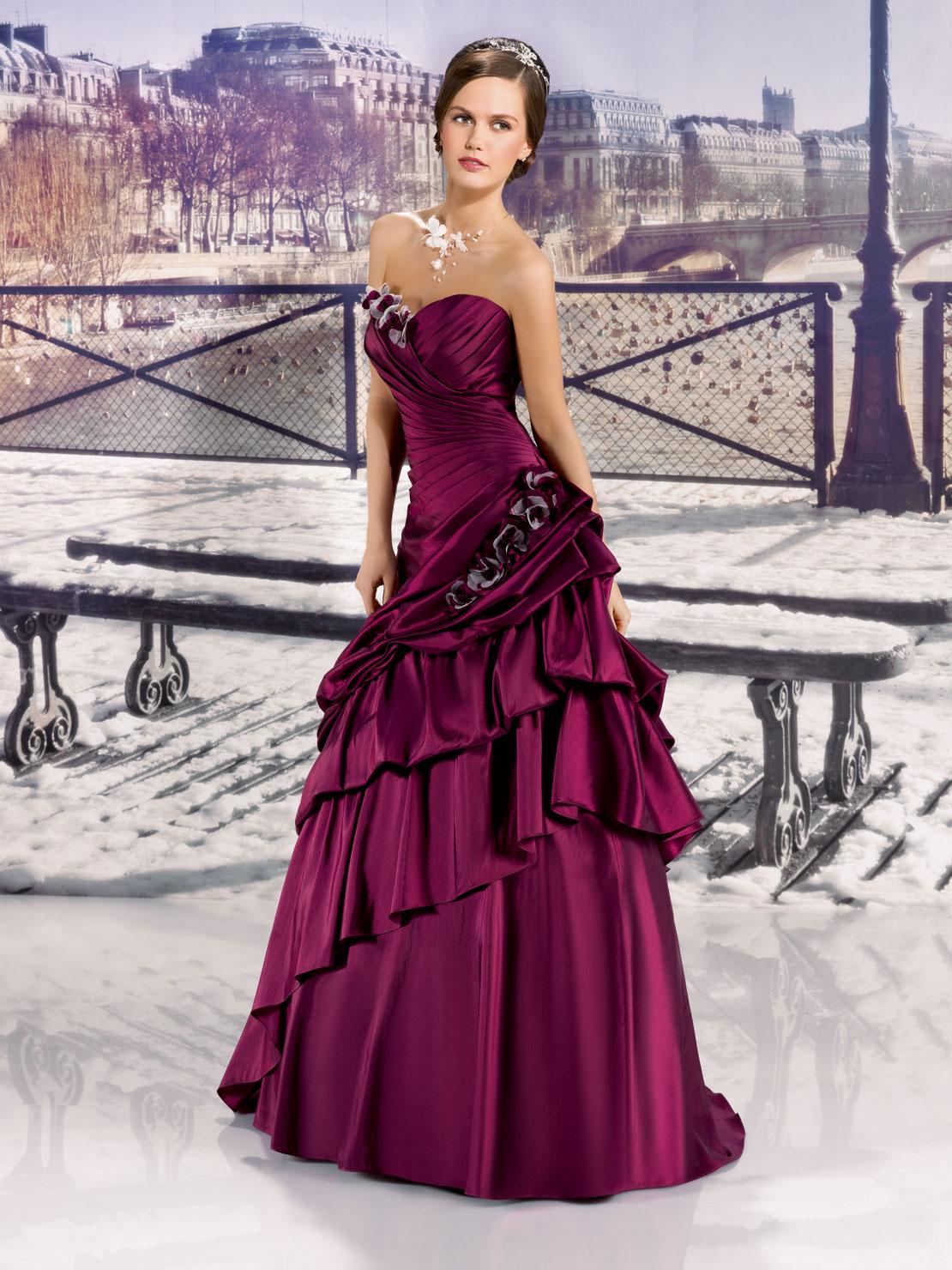 7 - Vestidos de Noiva Coloridos - Inspirações