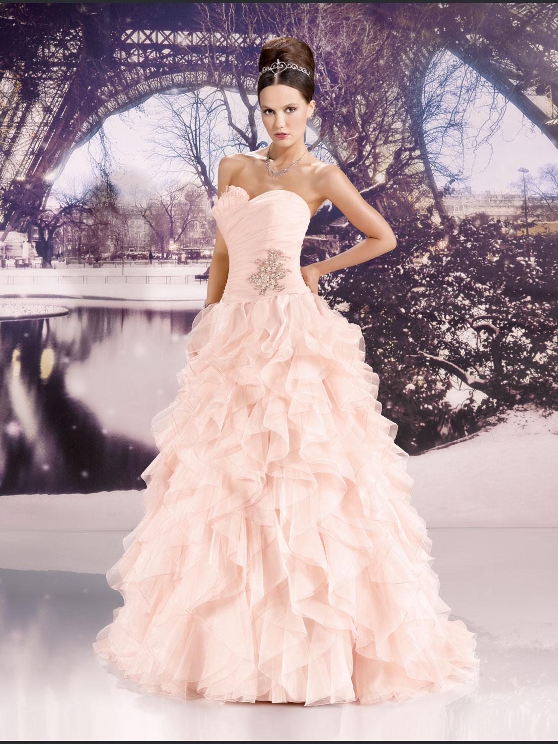 9 - Vestidos de Noiva Coloridos - Inspirações