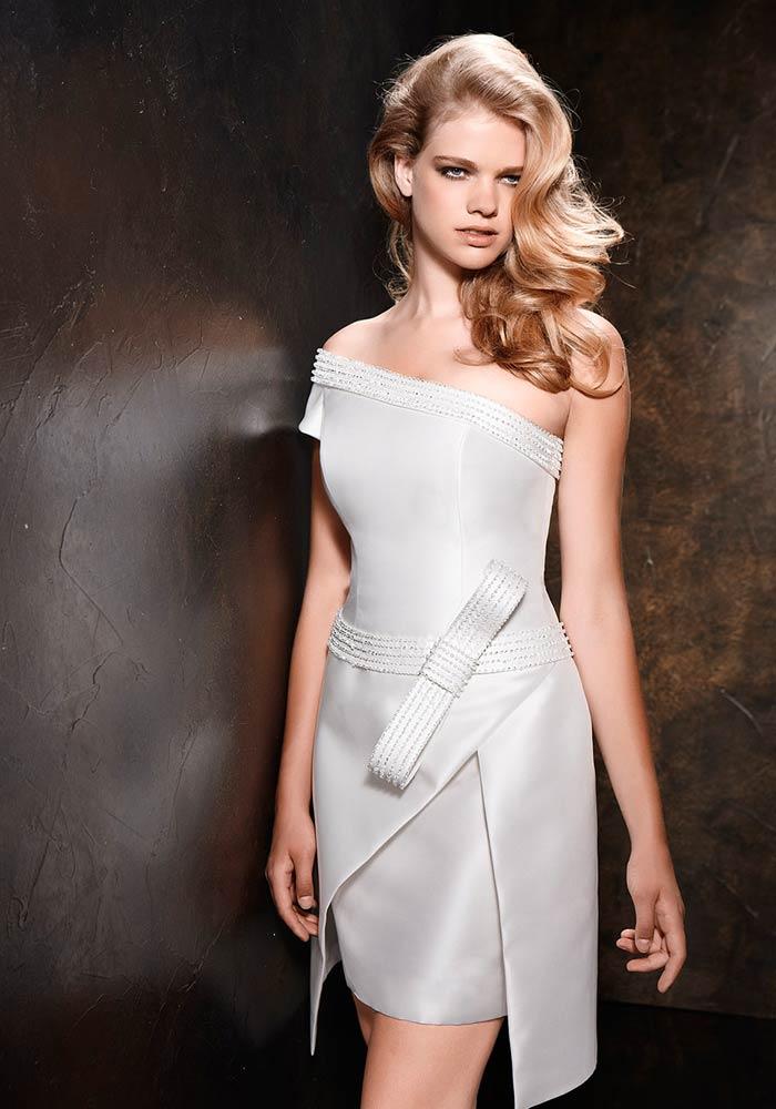 Alessandro Angelozzi Couture2 - Vestidos de Noiva Curtos