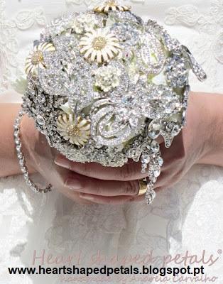 Bouquet Jóias 1 - Ramos artísticos com Jóias