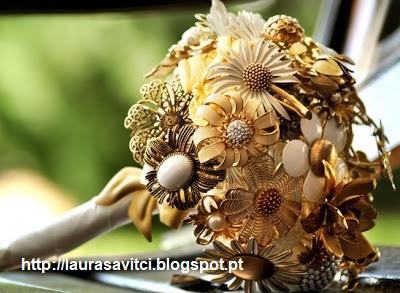 Bouquet Jóias 3 - Ramos artísticos com Jóias