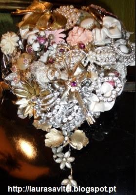Bouquet Jóias 4 - Ramos artísticos com Jóias