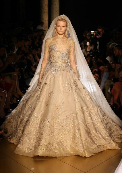Elie Saab - Vestidos de Noiva Coloridos - Inspirações