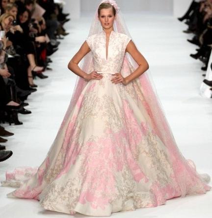 Elie Saab2 - Vestidos de Noiva Coloridos - Inspirações