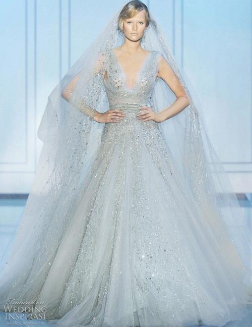 Elie Saab3 - Vestidos de Noiva Coloridos - Inspirações