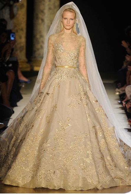 Elie Saab4 - Vestidos de Noiva Coloridos - Inspirações