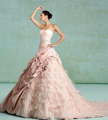 Kitty Chen Couture1 - Vestidos de Noiva Coloridos - Inspirações