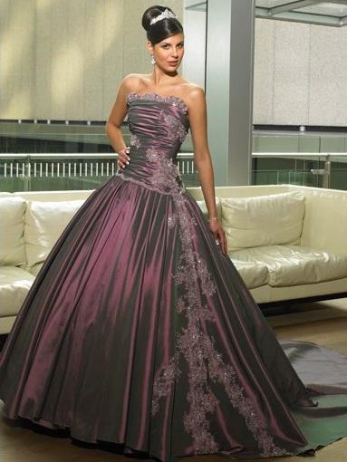Maggie Sottero2 - Vestidos de Noiva Coloridos - Inspirações