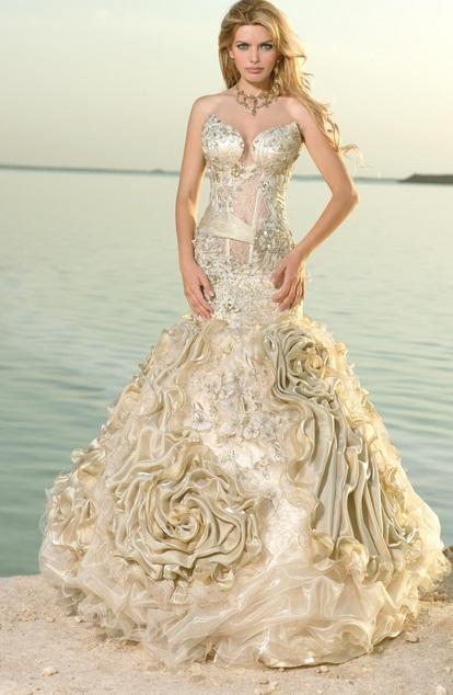 My Lady - Vestidos de Noiva Coloridos - Inspirações