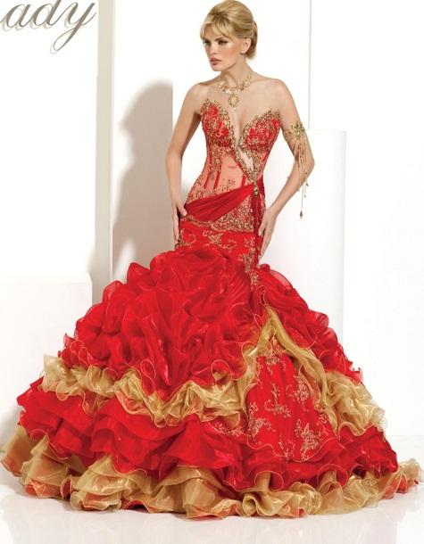 My Lady3 - Vestidos de Noiva Coloridos - Inspirações