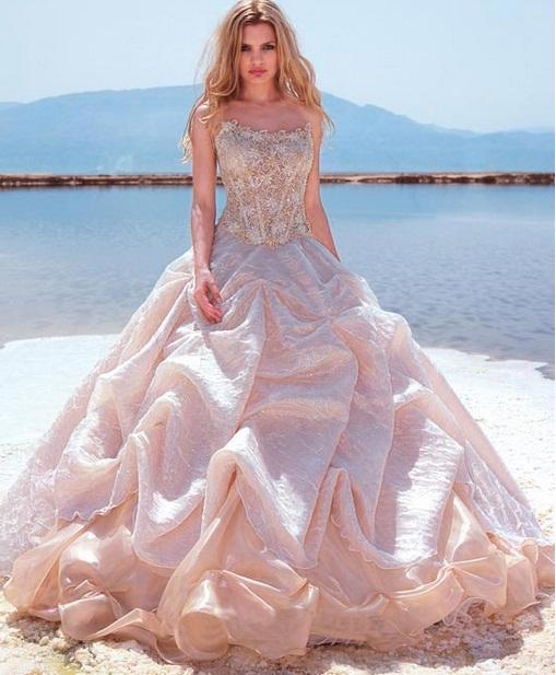 My Lady4 - Vestidos de Noiva Coloridos - Inspirações