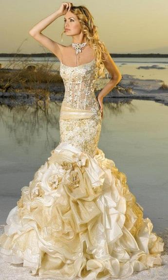 My lady7 - Vestidos de Noiva Coloridos - Inspirações