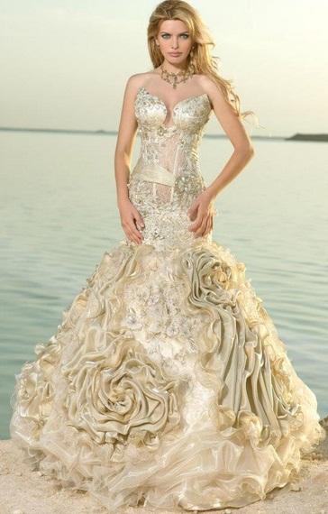 My lady8 - Vestidos de Noiva Coloridos - Inspirações