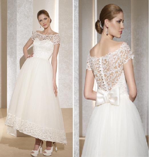 Noiva D Art - Vestidos de Noiva Curtos