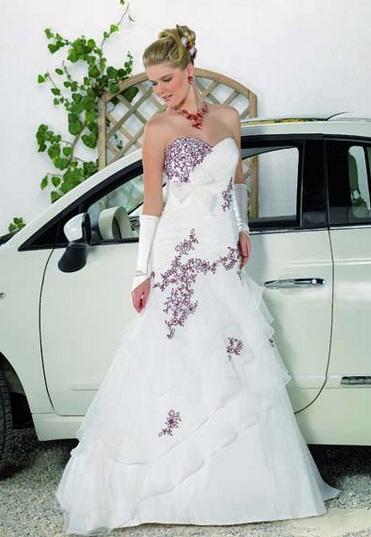Point Marriage2 - Vestidos de Noiva Coloridos - Inspirações