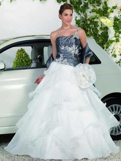 Point Marriage3 - Vestidos de Noiva Coloridos - Inspirações