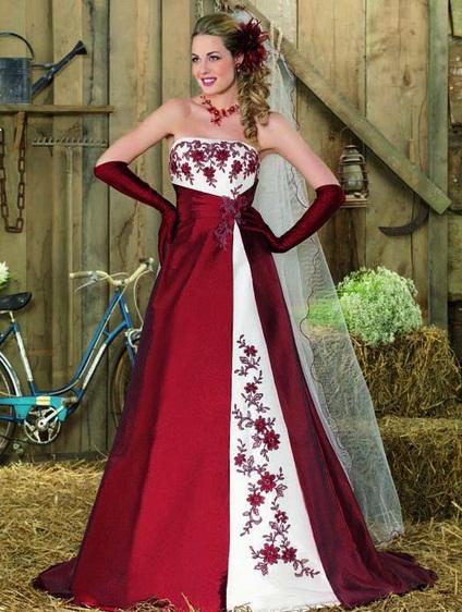 Point Marriage4 - Vestidos de Noiva Coloridos - Inspirações