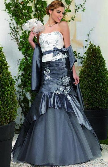 Point Marriage5 - Vestidos de Noiva Coloridos - Inspirações