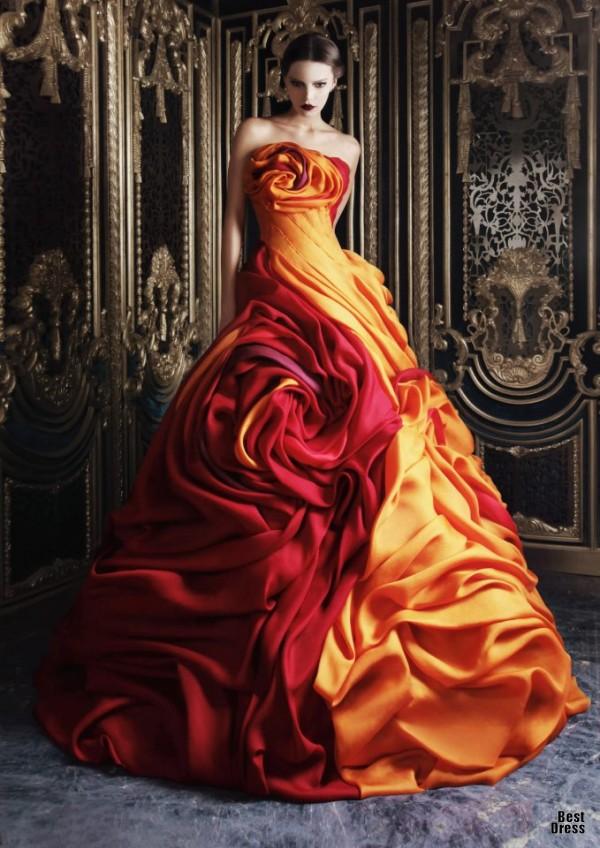 Rami Kadi 4 - Vestidos de Noiva Coloridos - Inspirações