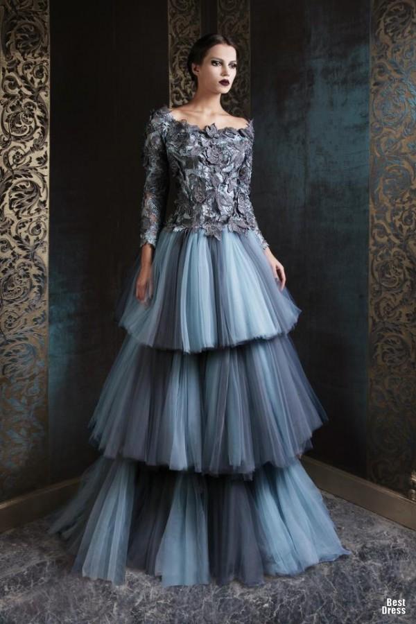 Rami Kadi 7 - Vestidos de Noiva Coloridos - Inspirações
