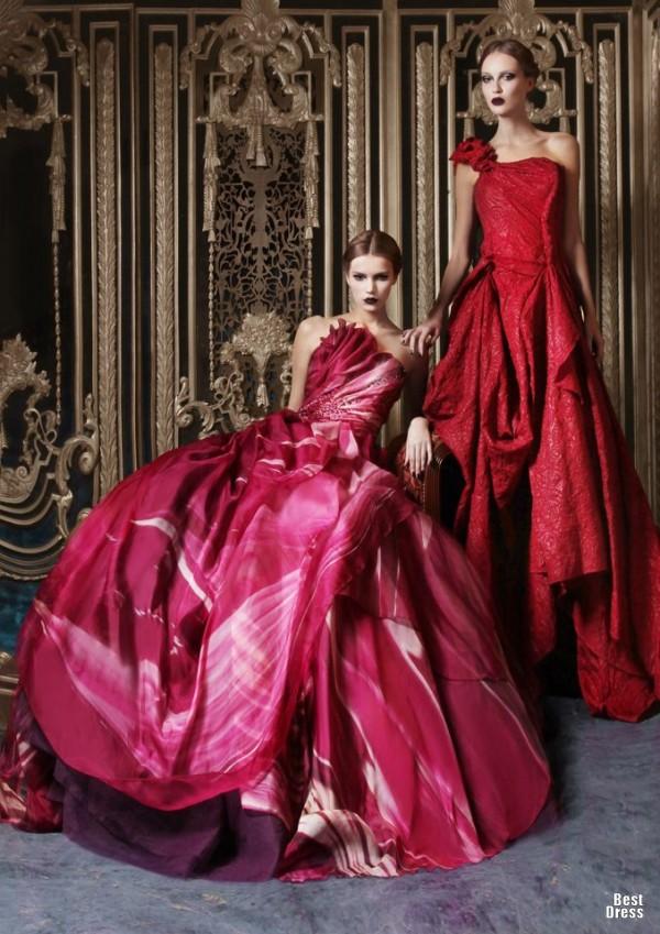 Rami Kadi - Vestidos de Noiva Coloridos - Inspirações